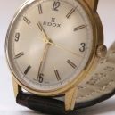 Edox dresswatch handopwinder - Verguld