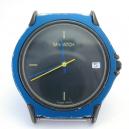 Mondaine M-watch ETA quartz blauw/zwart