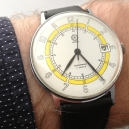 Ancre 17 jewels - handopwinder vintage jaren 70 horloge heren
