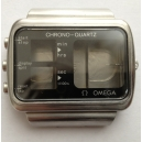 Omega Seamaster Chrono-Quartz - Kast inc. knoppen, opwindas en glaasje